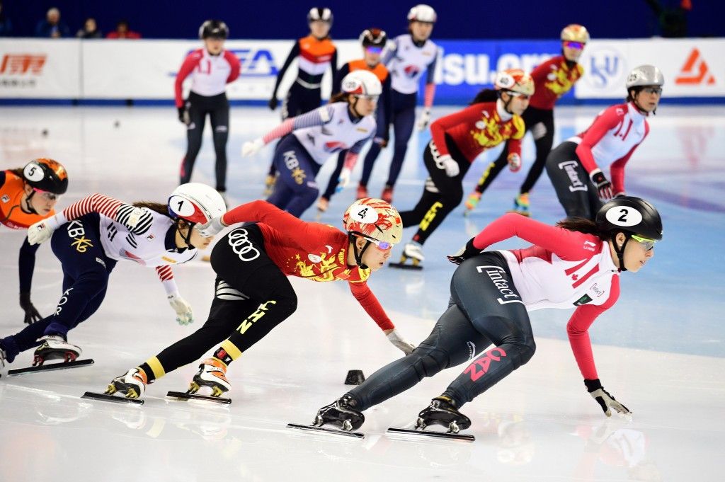 South Korea win three races at ISU Short Track World Cup season finale