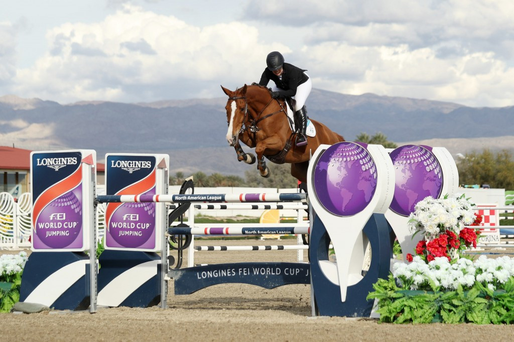 Bond wins FEI World Cup Jumping leg in Thermal
