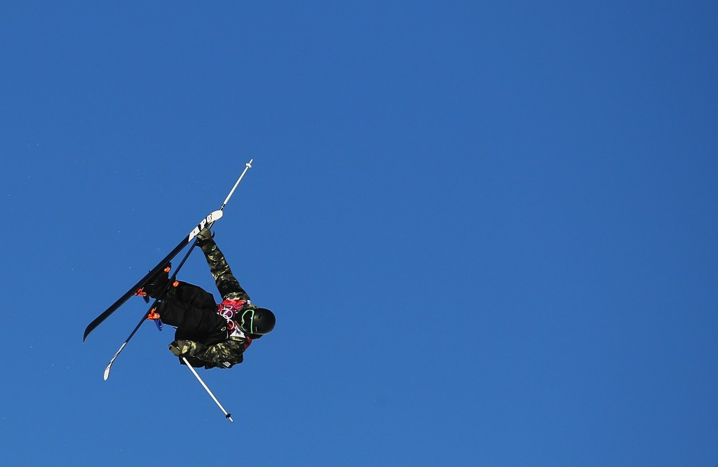 Kai Mahler won the men's freestyle skiing big air event ©Getty Images