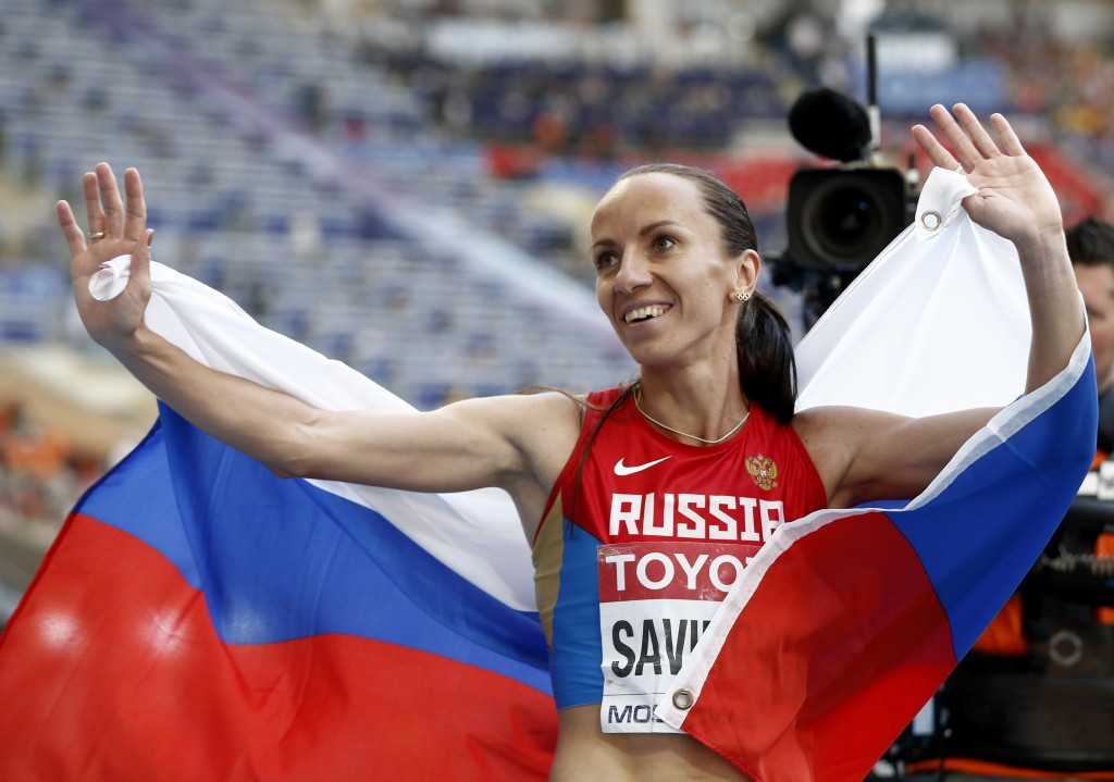 Russian 800 metres runner Mariya Savinova was stripped of her Olympic gold medal from London 2012 last week ©Getty Images