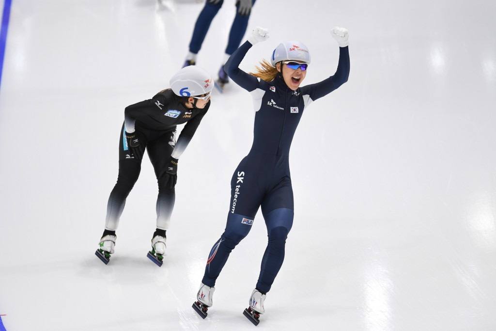Kim delivers home gold at ISU World Single Distances Speed Skating Championships