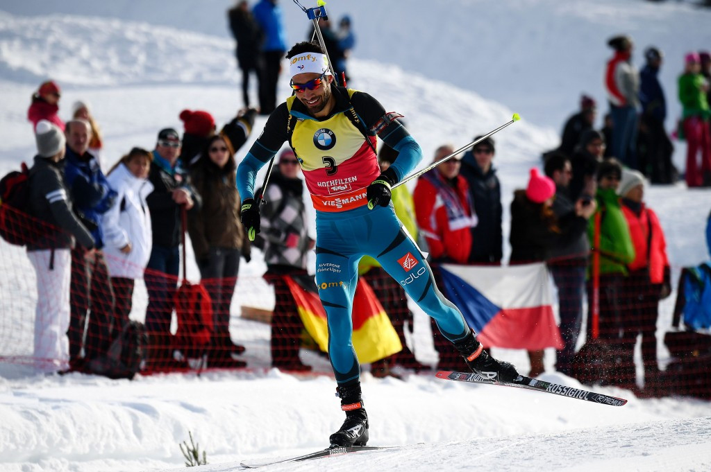 Fourcade and Dahlmeier defend pursuit titles at IBU World Championships