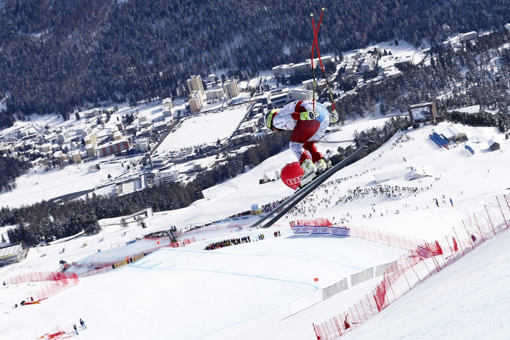 St Moritz in Switzerland is currently hosting the FIS Alpine World Championships ©Getty Images
