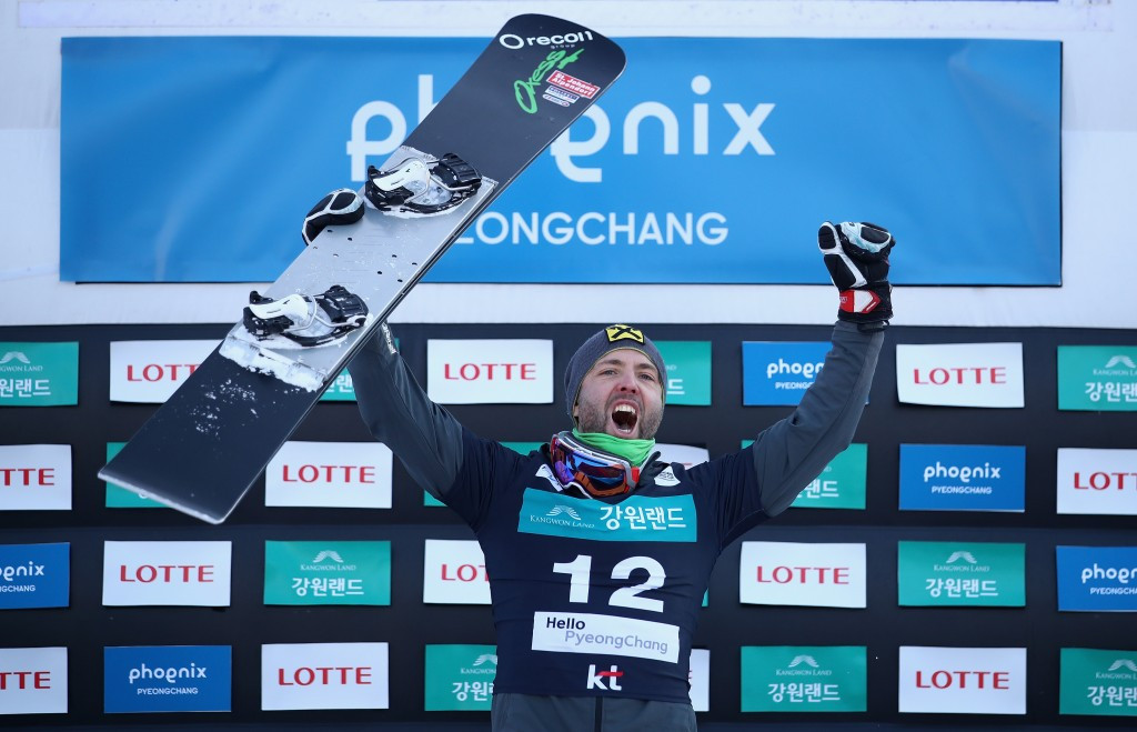 Prommegger triumphs at Snowboard World Cup in Bokwang Phoenix Park