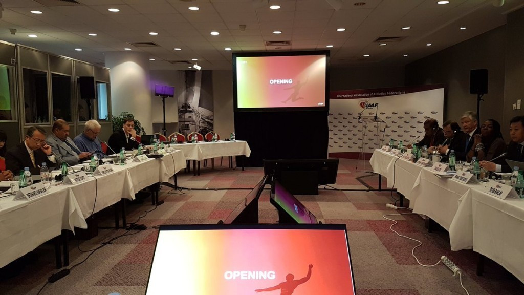 An update was given on progress in Ukraine at last week's IAAF Council meeting ©Twitter/Olivier Gers