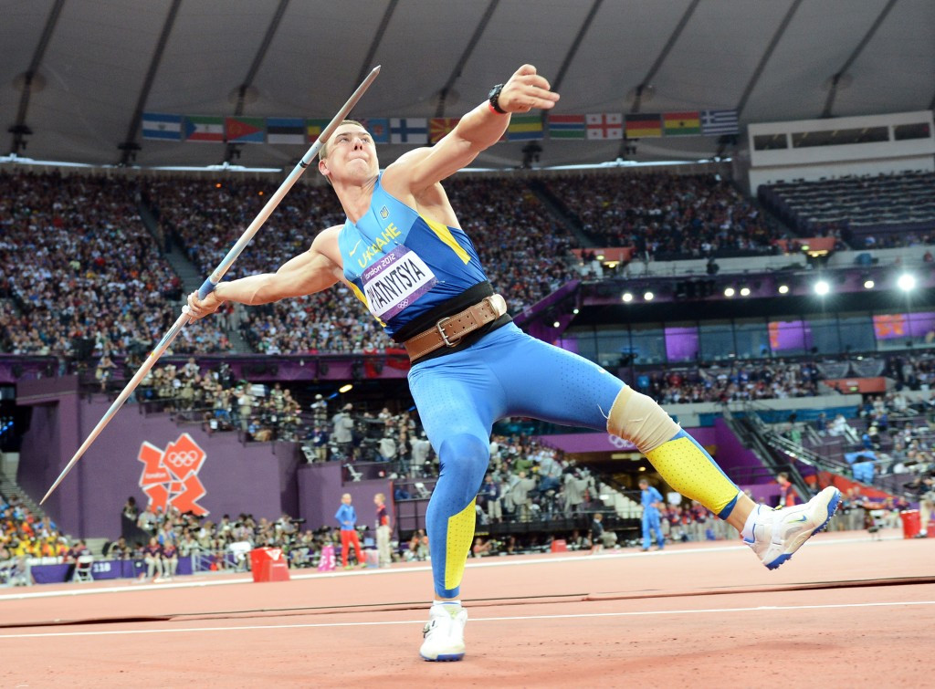 Oleksandr Pyatnytsya was stripped of his London 2012 javelin silver medal following re-testing of his samples by the IOC ©Getty Images