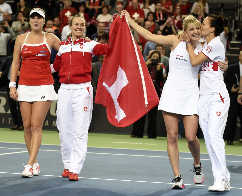 Switzerland and Belarus set-up Fed Cup semi-final tie