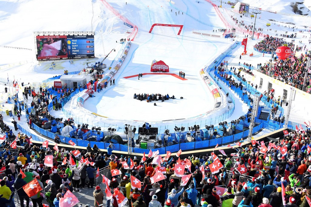 In pictures: Downhill action at the FIS Alpine World Championships