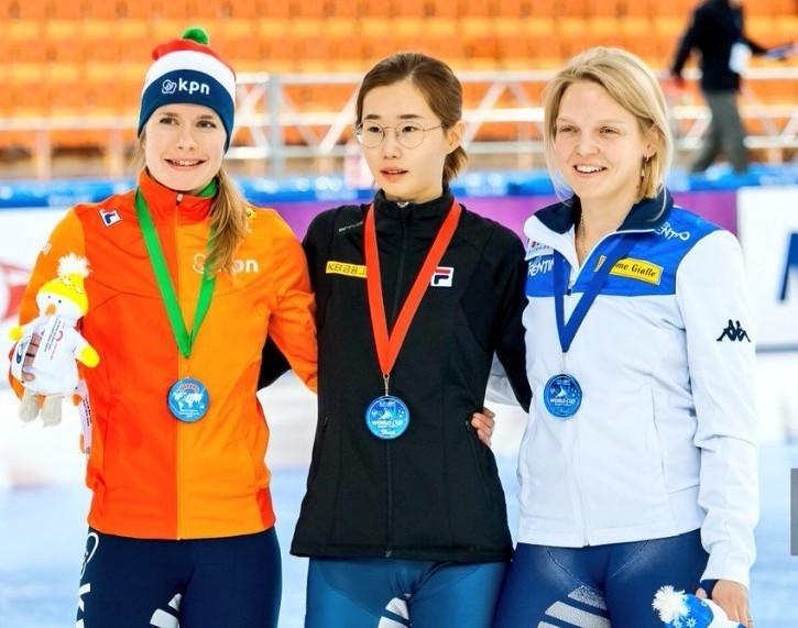 Kazakhstan, China and South Korea among ISU Short Track World Cup winners