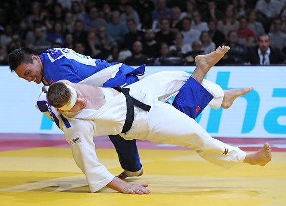 China's Cheng Xunzhao reasserted his status as a rising star in the sport ©IJF