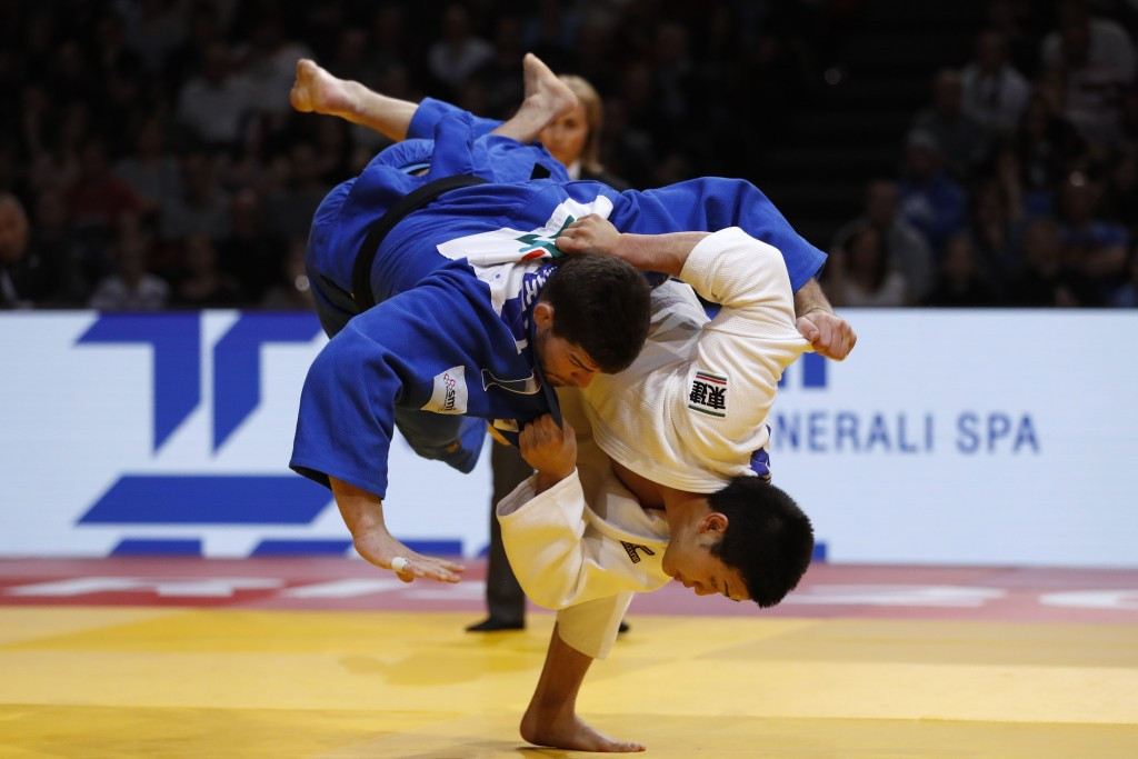 The Paris Grand Slam was the first IJF World Tour event to be conducted with the new rules ©Getty Images