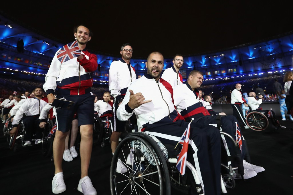 ASOS provided ceremonies and formalwear to the British team at the Rio 2016 Paralympics ©Getty Images