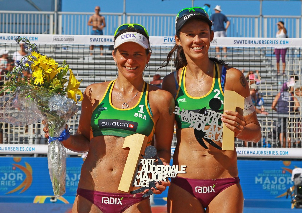 Franca and Antunes claim women's title at FIVB World Tour in Fort Lauderdale
