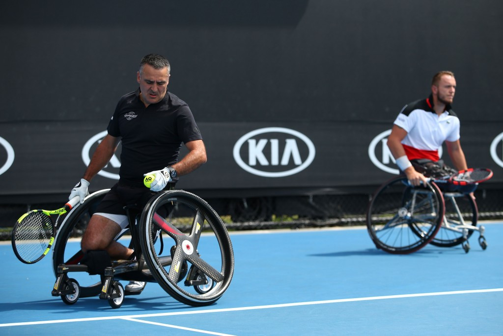 Houdet and Reid lead entries for ABN AMRO World Wheelchair Tennis Tournament