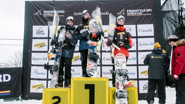 Quebec native Toutant claims home FIS Slopestyle World Cup win