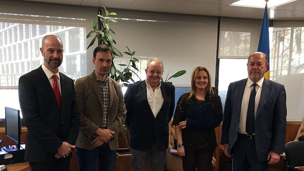 WKF President discusses Games of the Small States of Europe in Andorra