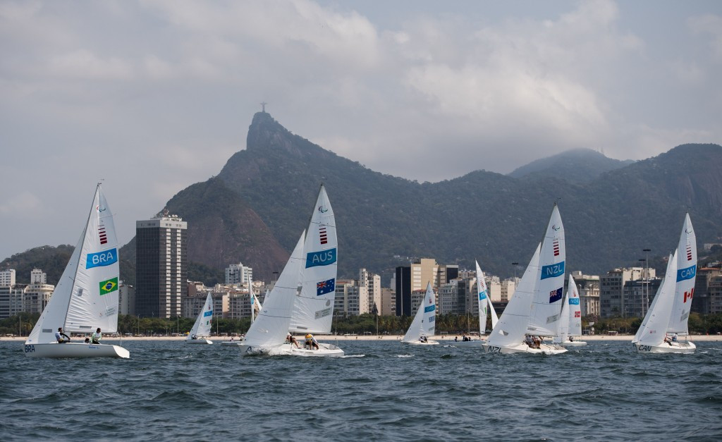 Para-sailing made what could be its last Paralympic appearance at Rio 2016 ©Getty Images