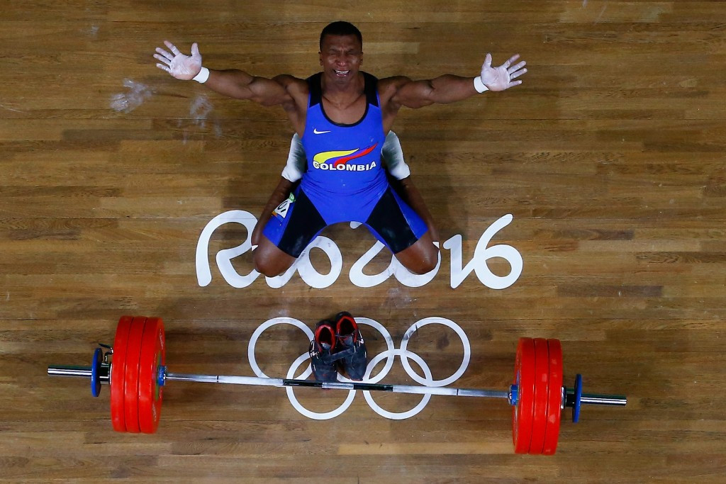 Óscar Figueroa won Olympic gold for Colombia at Rio 2016 ©Getty Images
