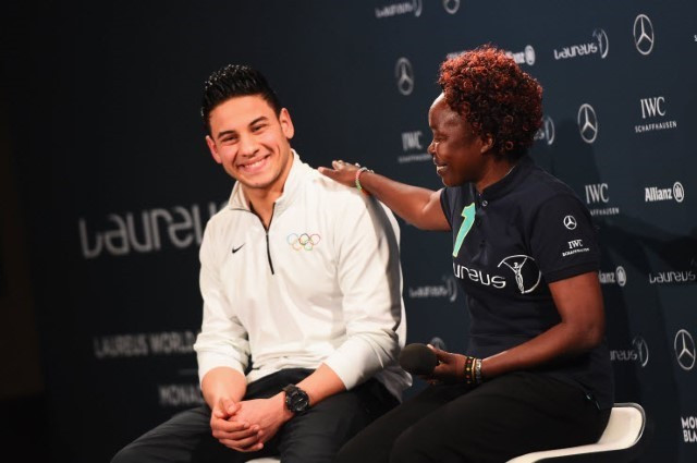 Refugee Olympic Team receive Laureus Sport for Good Award