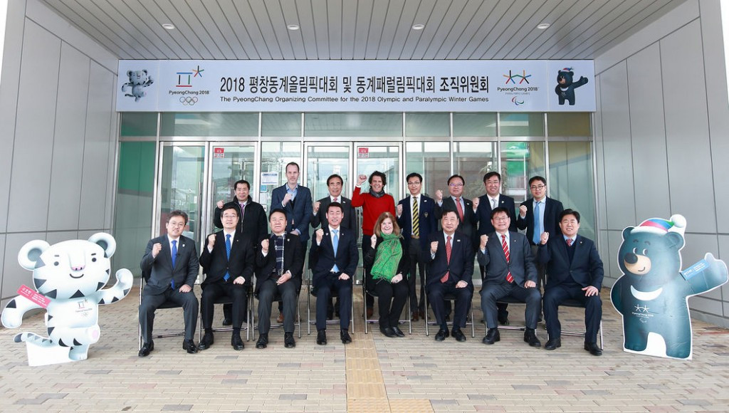 National Assembly Commission visit Pyeongchang 2018 headquarters