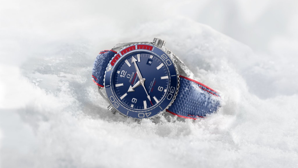 Omega have released a limited edition Pyeongchang 2018 watch ©Omega
