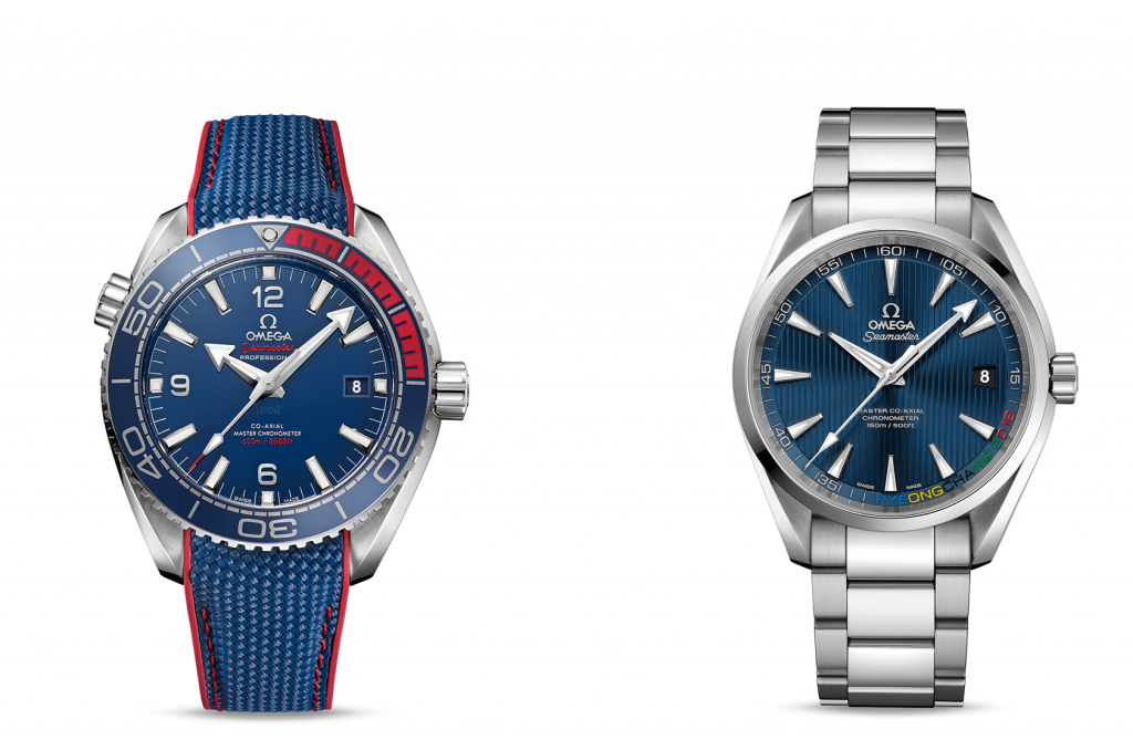 Omega have now released two limited edition watches for the Games ©Omega
