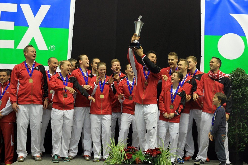 Denmark aim to extend European Mixed Team Badminton Championships dominance
