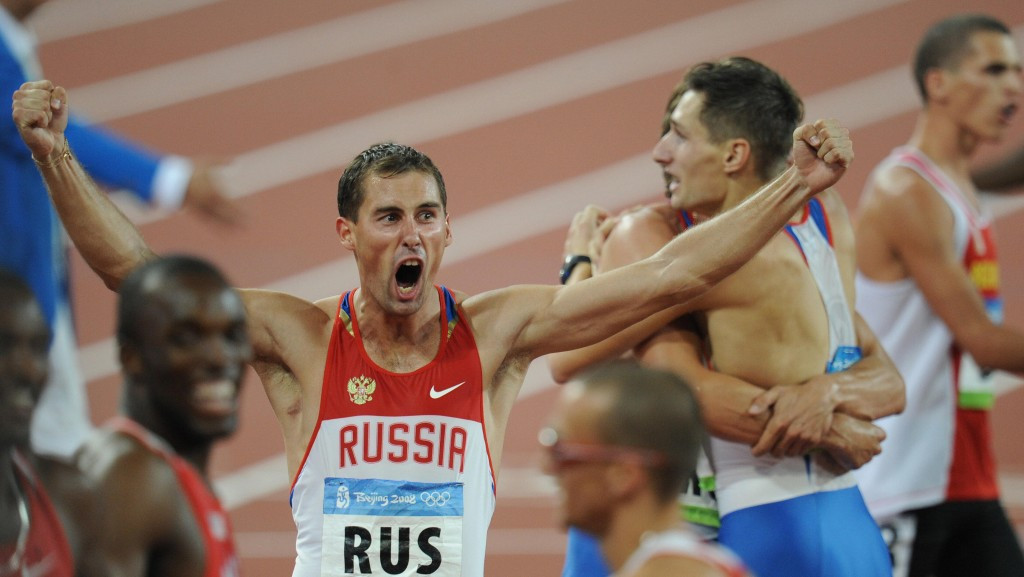 It has emerged that Russian track and field athlete Anton Kokorin returned the 4x400 metres relay bronze medal he won at Beijing 2008 ©Getty Images