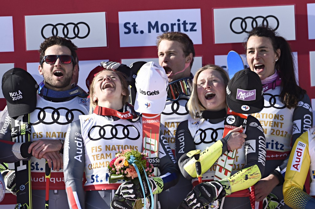 In pictures: France claim team gold at FIS Alpine World Championships