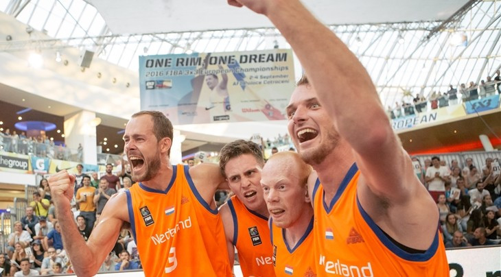 Amsterdam awarded 2017 3x3 Europe Cup and 2019 World Cup by FIBA