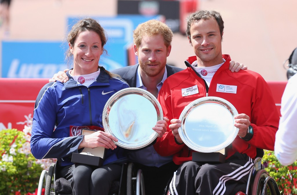 Hug and McFadden to defend London Marathon wheelchair titles