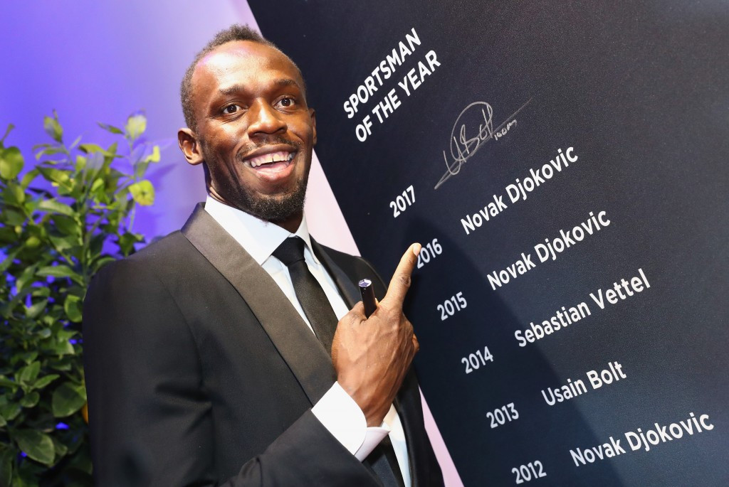 Bolt and Biles claim top prizes at Laureus World Sports Awards