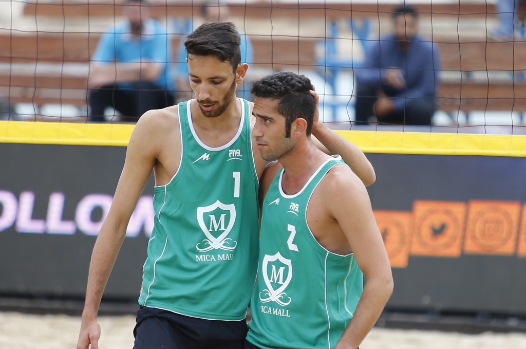 Mixed day for Iran on opening day of FIVB Beach Volleyball World Tour on Kish Island