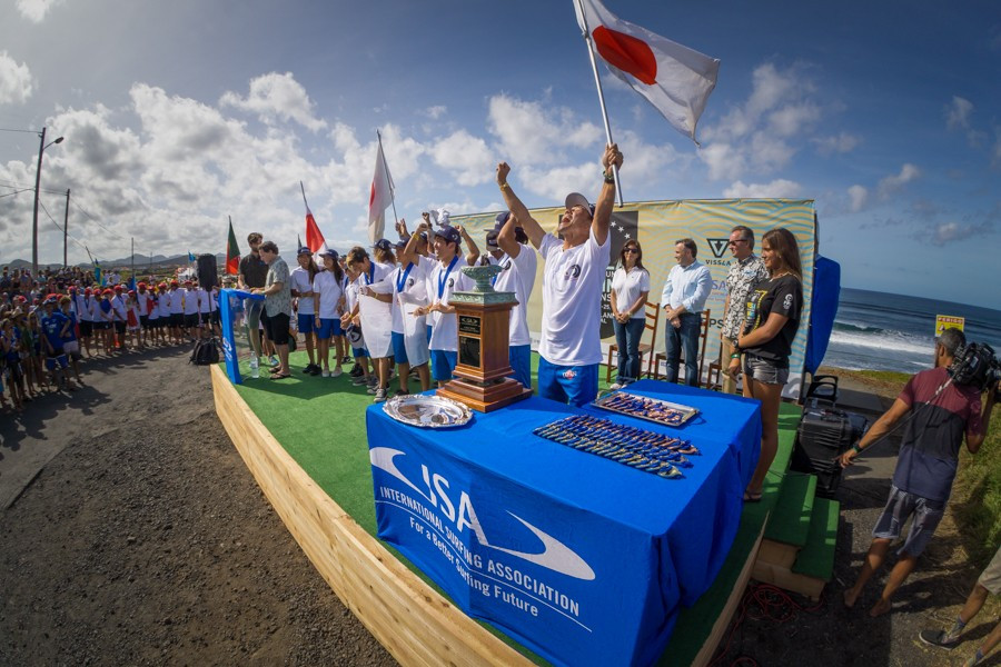 Team Japan claimed the Copper Medal in the 2016 edition of the event ©ISA
