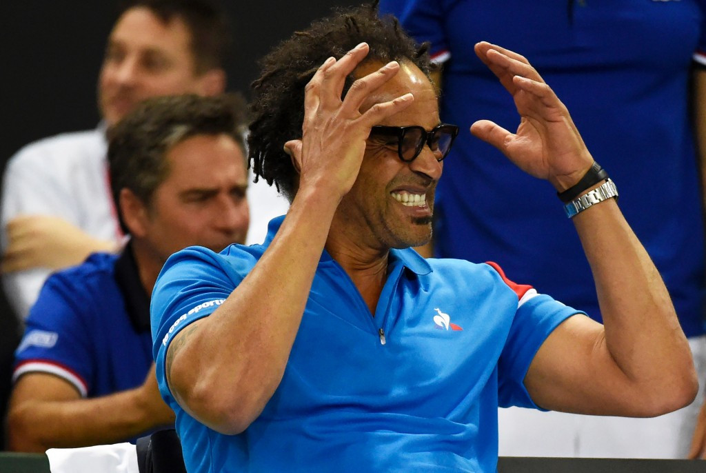 Yannick Noah's French team will face Spain as they attempt to stay in the Fed Cup World Group ©Getty Images
