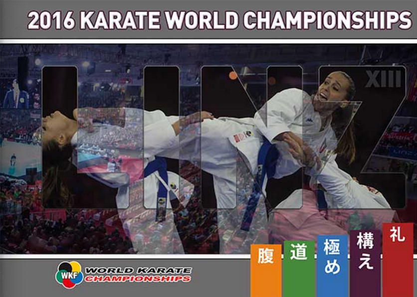 WKF unveils official photo book of 2016 Karate World Championships