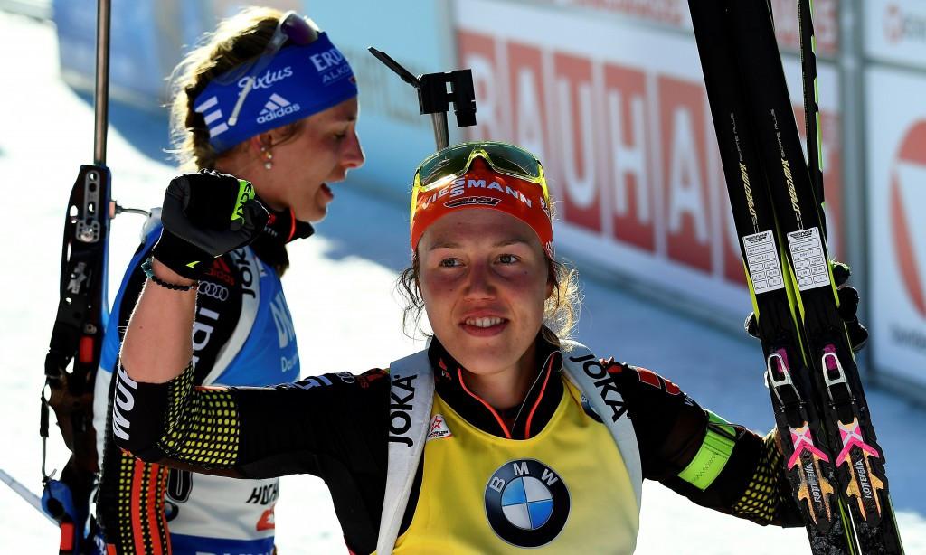 Dahlmeier claims third gold medal of IBU World Championships