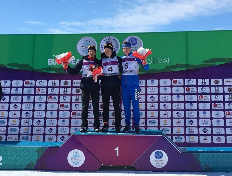 France's Briffaz prevails in boys' 10km biathlon pursuit at Winter EYOF