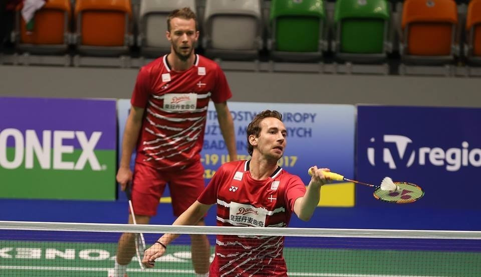 Denmark make strong start to European Mixed Team Badminton Championships title defence