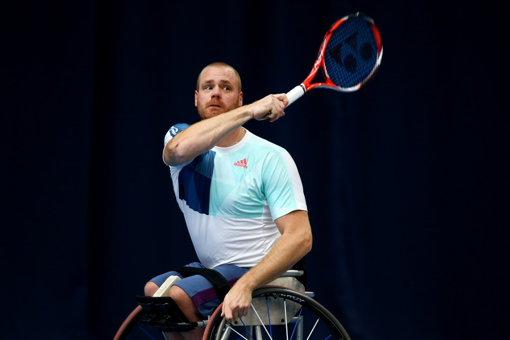 Scheffers delights home crowd with victory at ABN AMRO World Wheelchair Tennis Tournament