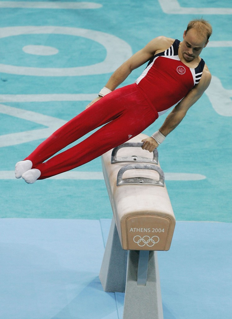 Brett McClure won a silver medal at the Athens 2004 Olympic Games ©Getty Images