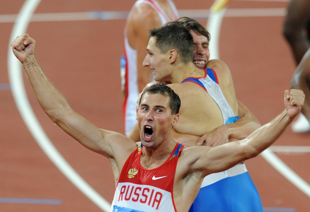 It recently emerged that Russian track and field athlete Anton Kokorin returned the 4x400 metres relay bronze medal he won at Beijing 2008 ©Getty Images