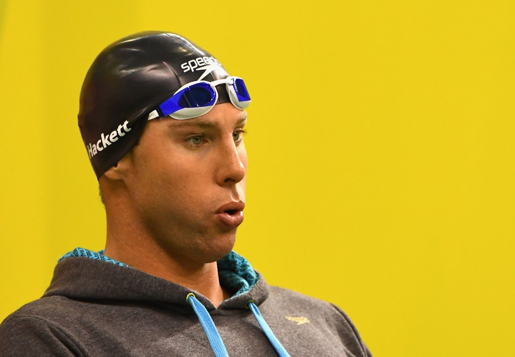Troubled swimming star Hackett found safe after going missing