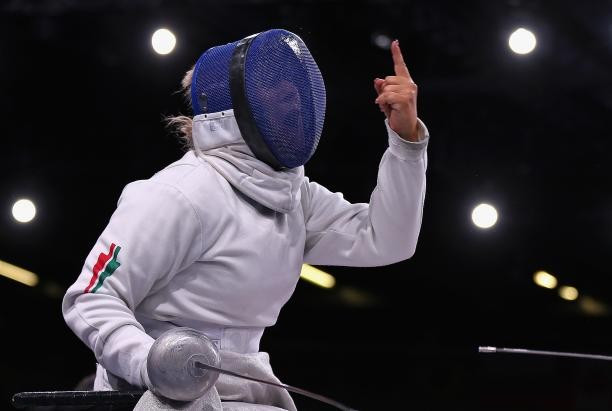 Zsuzsanna Krajnyak will be hoping to secure a victory in the women's foil category A event at the IWAS World Cup ©IPC