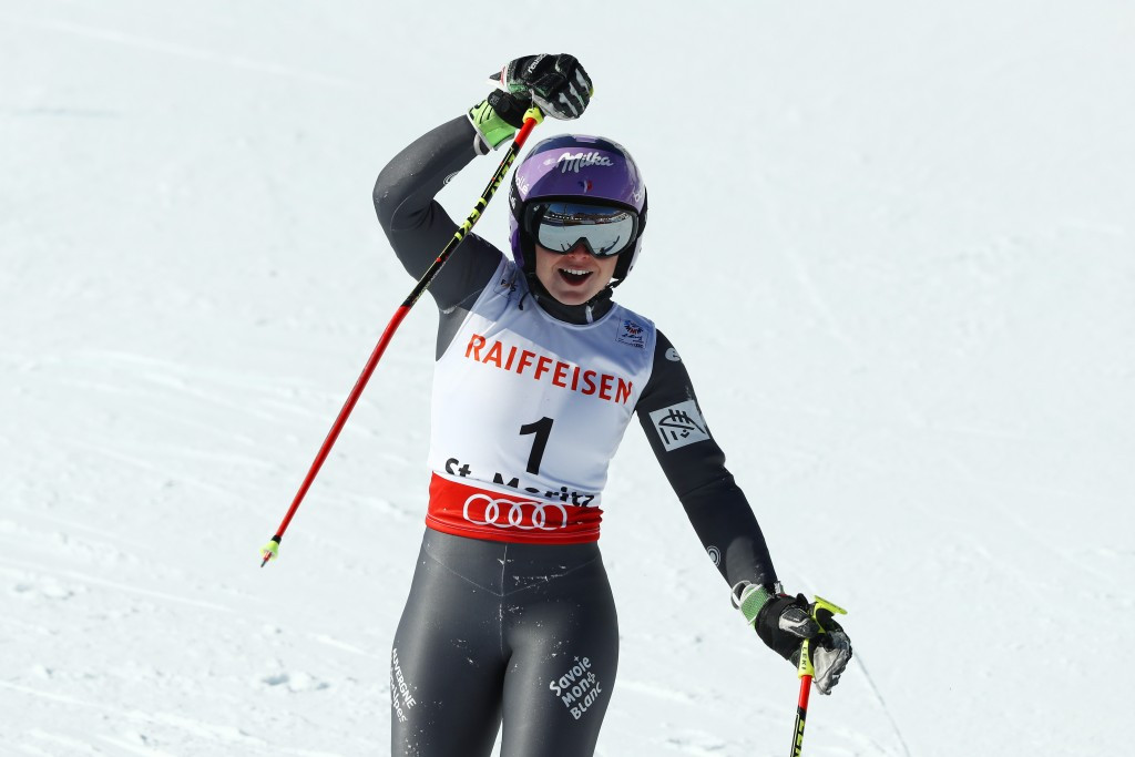 Worley secures second gold of FIS Alpine World Championships with giant slalom victory