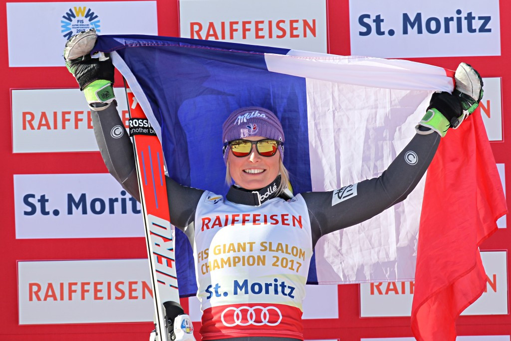 In pictures: Worley claims women's giant slalom title at FIS Alpine World Championships