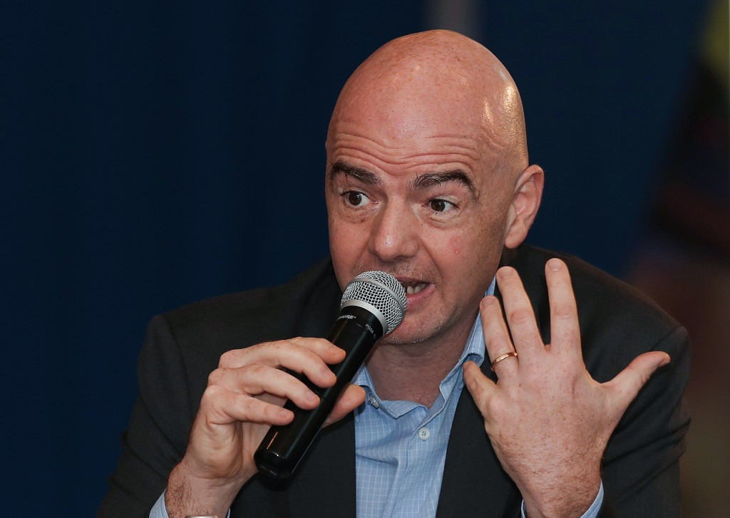 Infantino plays down hooligan threat at 2018 FIFA World Cup in Russia