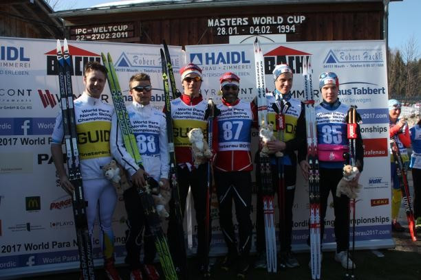 McKeever tops podium again at World Para Nordic Skiing Championships