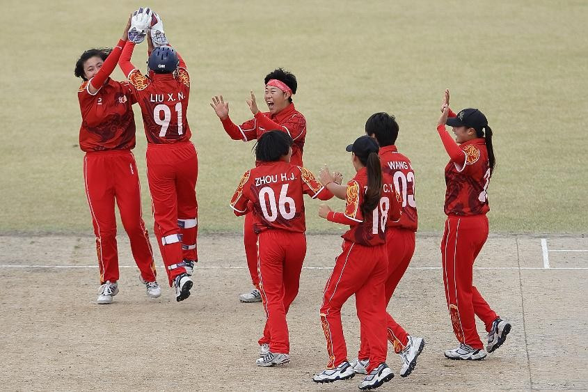 Increasing the popularity in China is among the ICC's aims for 2017 ©ICC