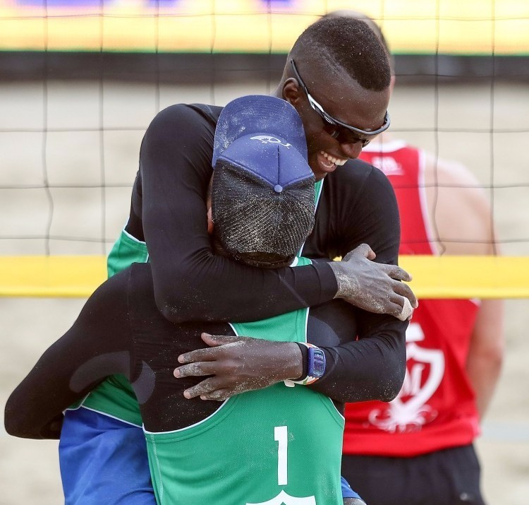 Younousse begins title defence at FIVB Beach Volleyball World Tour event at Kish Island